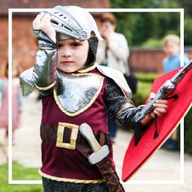Comprar online os fatos medievais mais originais para crianças
