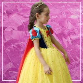 : Comprar online os disfarces mais originais de Princesa Disney para meninas