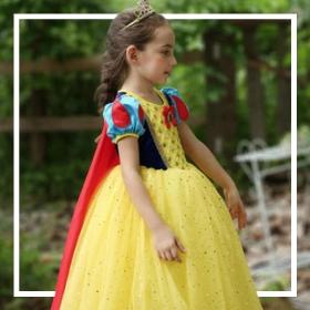 Comprar online os fatos Princesas Disney mais originais para raparigas