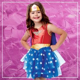 Comprar online os disfarces mais originais de Super-heroínas para meninas