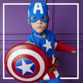 Comprar online os fatos de super-herói mais originais para crianças