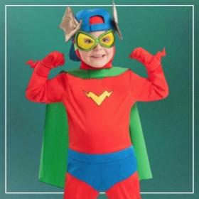 Comprar online os disfarces mais originais de Superzings para meninos