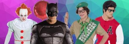 Escolhe já o teu disfarce para homem para o Carnaval, Halloween…