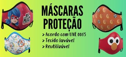 Máscaras de tecido protector