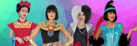Escolhe já o teu disfarce para mulher para o Carnaval, Halloween…